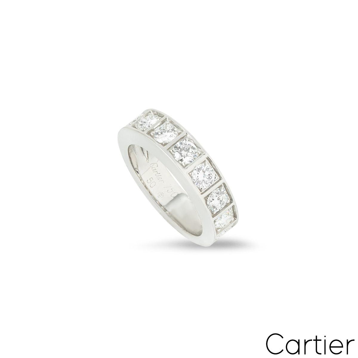 CartierDiamond Half Eternity Ring 1.35ct